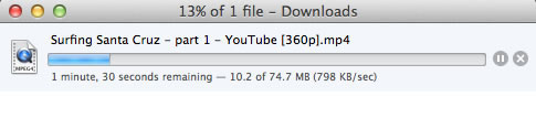 Video downloading in Firefox